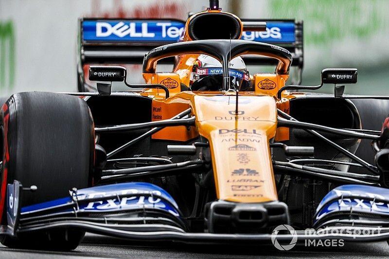 "Sainz disfruta en McLaren tras un final ""raro"" en Renault"
