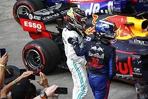 Hamilton a világbajnoki címe miatt kockáztatott többet Albon mögött?