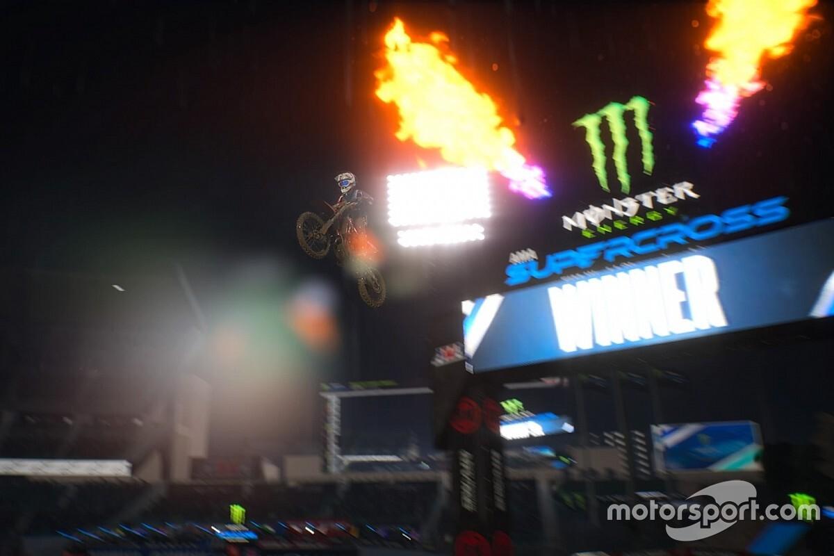 Las estrellas de Supercross se miden virtualmente en el Monster Energy E SX