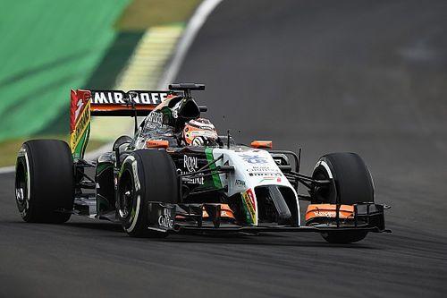 Los autos de Hulkenberg en Fórmula 1