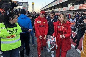 Leclerc, testin ilk gününde hastalanan Vettel'in yerini aldı!