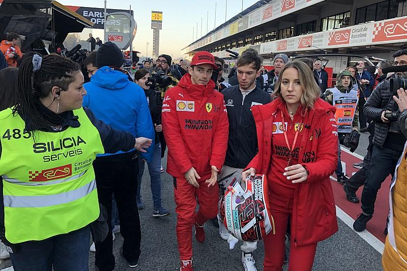 Ferrari: Vettel sta male, gira Leclerc sulla SF1000