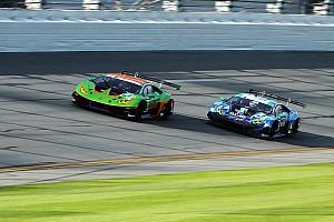 Cuatro Lamborghini sancionados en Daytona