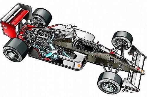 Veja a história fascinante da McLaren mais icônica de Senna na F1