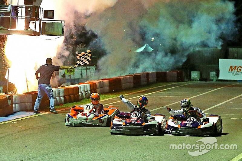 Bortoleto, Sette Câmara e cia levam KTF à vitória nas 500 Milhas de Kart