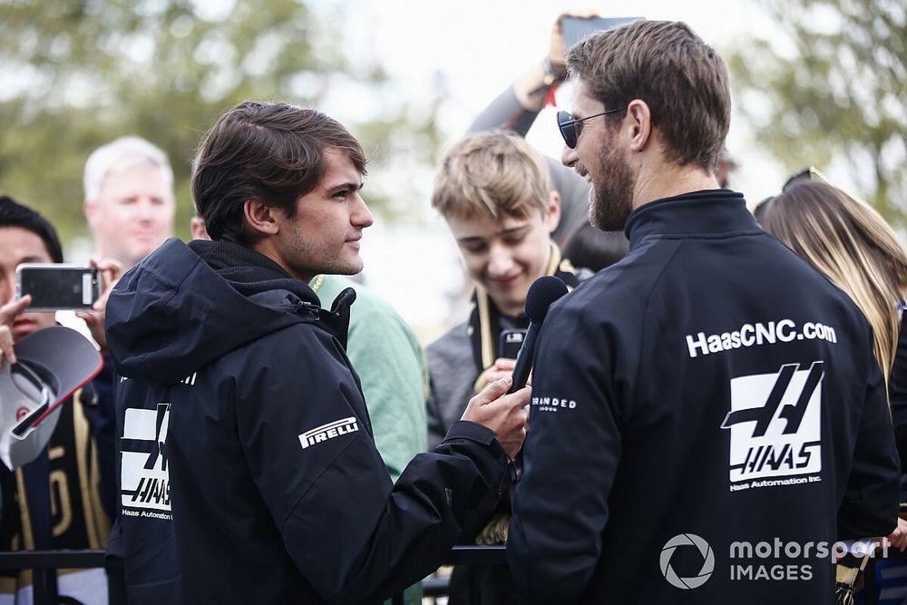 """Pietro revela conselho de Grosjean para estreia na F1: """"Tente se divertir o máximo possível"""""""