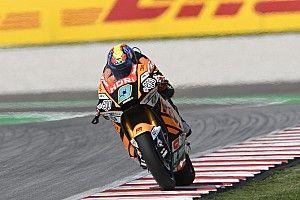 Moto2, Valencia: Navarro in pole, prima fila per Manzi