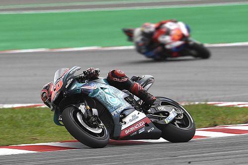"""Quartararo afirma que primeira volta no GP da Malásia foi um """"desastre total"""""""
