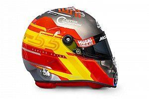 Fotos: el agresivo diseño de casco de Carlos Sainz para 2020