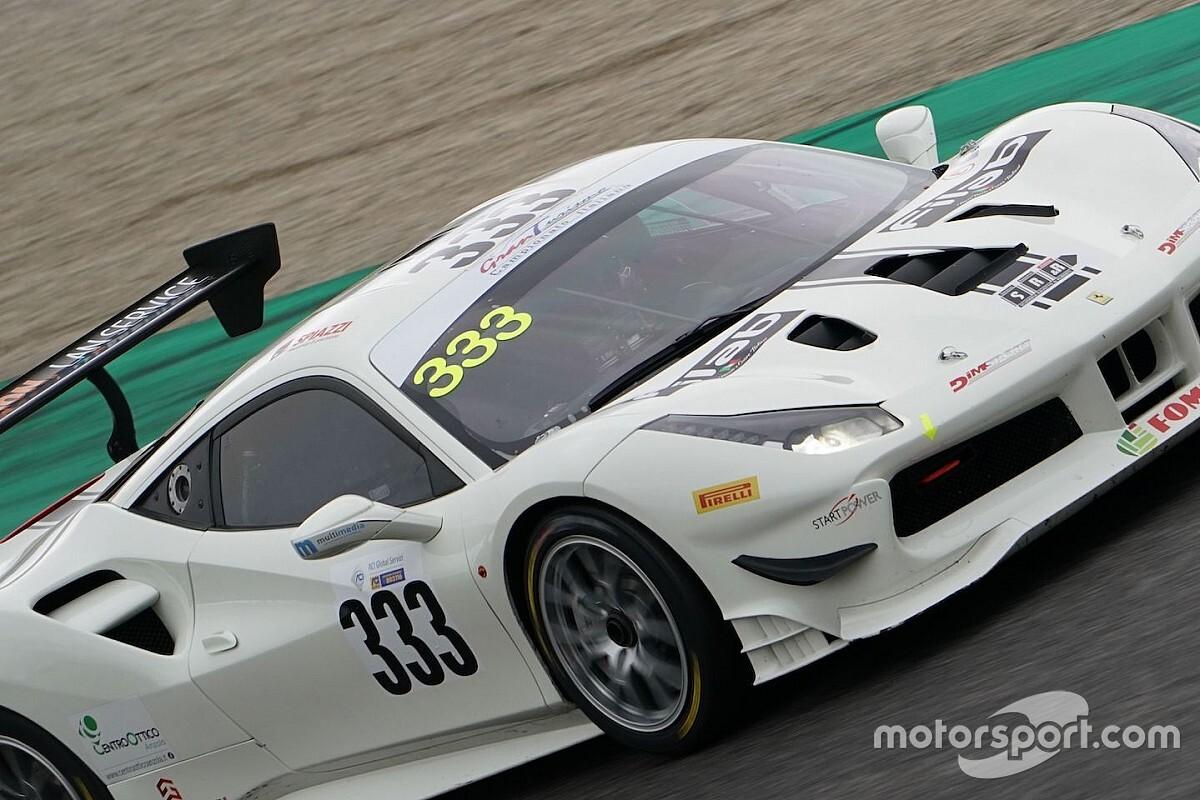 GT Italiano: S.R.&R sostituisce Cristoni con Berton sulla Ferrari