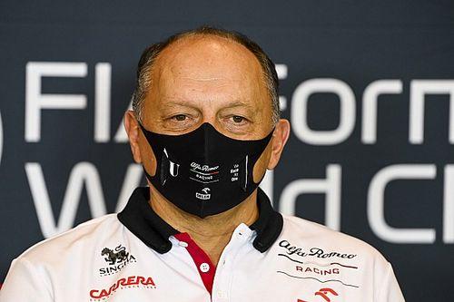 Alfa Romeo F1 boss Vasseur tests positive for COVID-19
