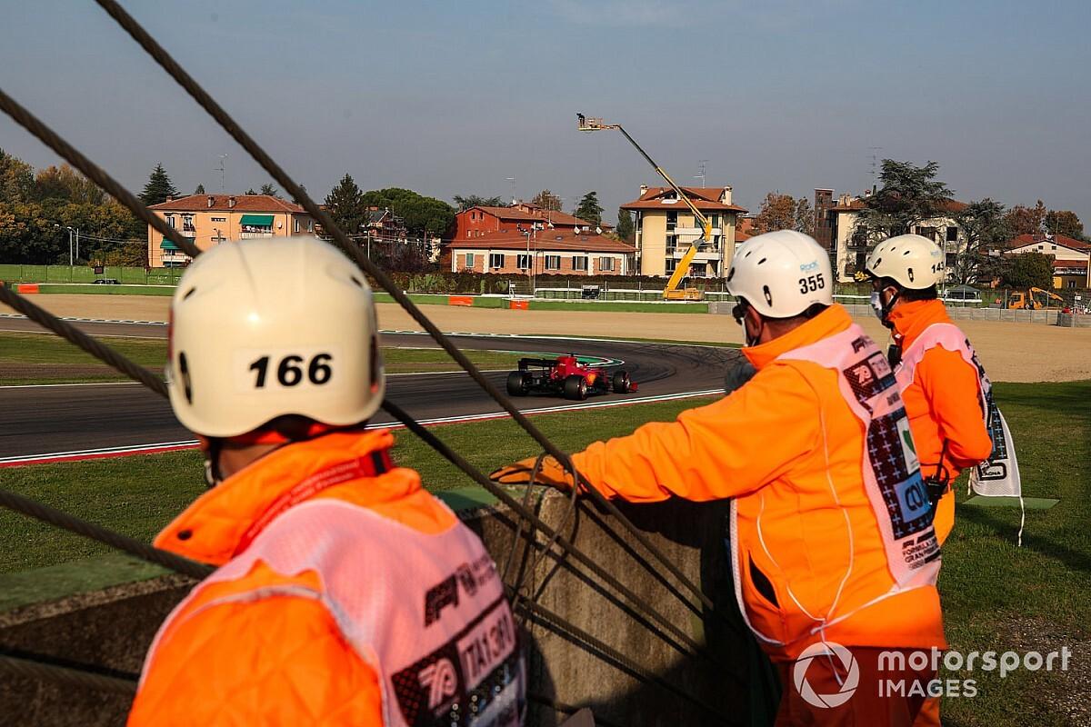 Un peligro terrible con los comisarios en Imola: ¿qué pasó?