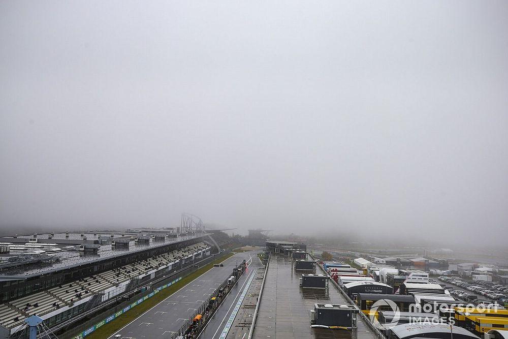 Eifel GP 2. antrenman seansı da iptal edildi!