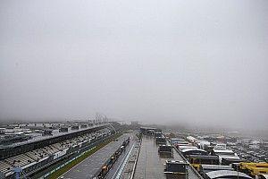 F1アイフェルFP1:悪天候でセッション開始できず。シューマッハー&アイロット走れず