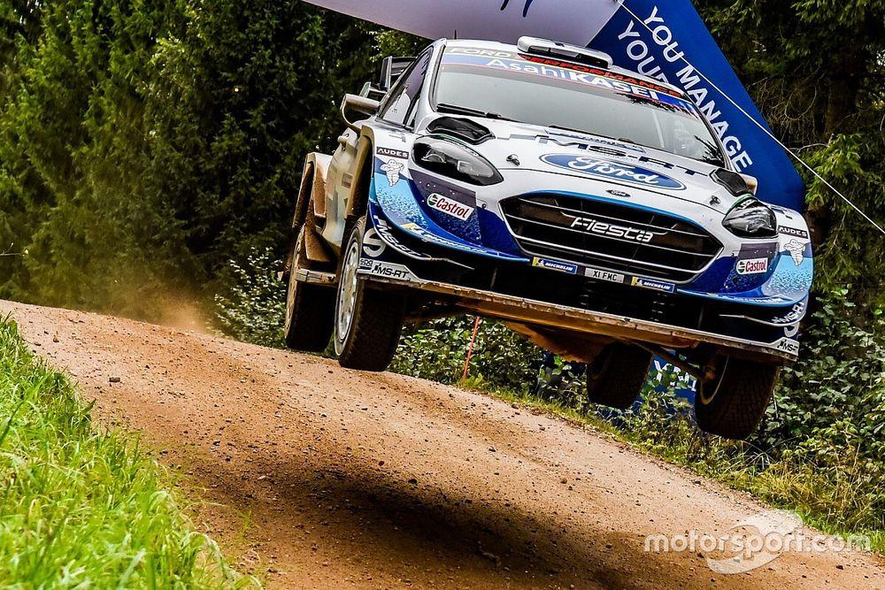 Estonia WRC: M-Sport's Esapekka Lappi takes early lead