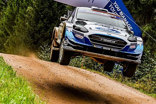 Estonia WRC: M-Sport's Esapekka Lappi takes early lead