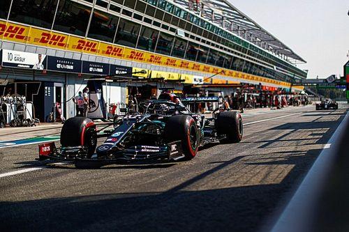 Hamilton elogia la gestión de Mercedes con el tráfico de Monza