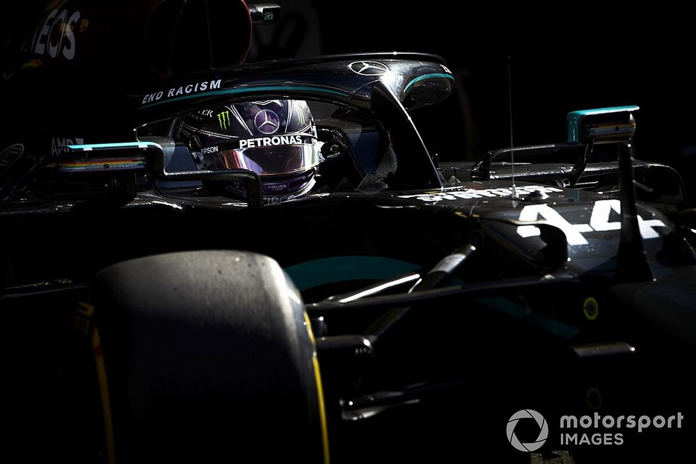 """Hamilton: """"Ho guidato una Mercedes tremenda nelle FP2"""""""
