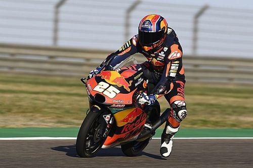 Moto3, Aragon: Fernandez in pole, ma Vietti lo fa sudare