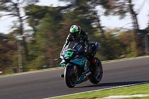 Morbidelli topt koude warm-up voor GP van Frankrijk