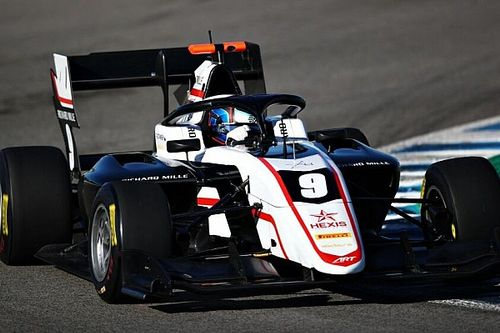 Test F3, Jerez, Giorno 1: Stanek precede Arthur Leclerc