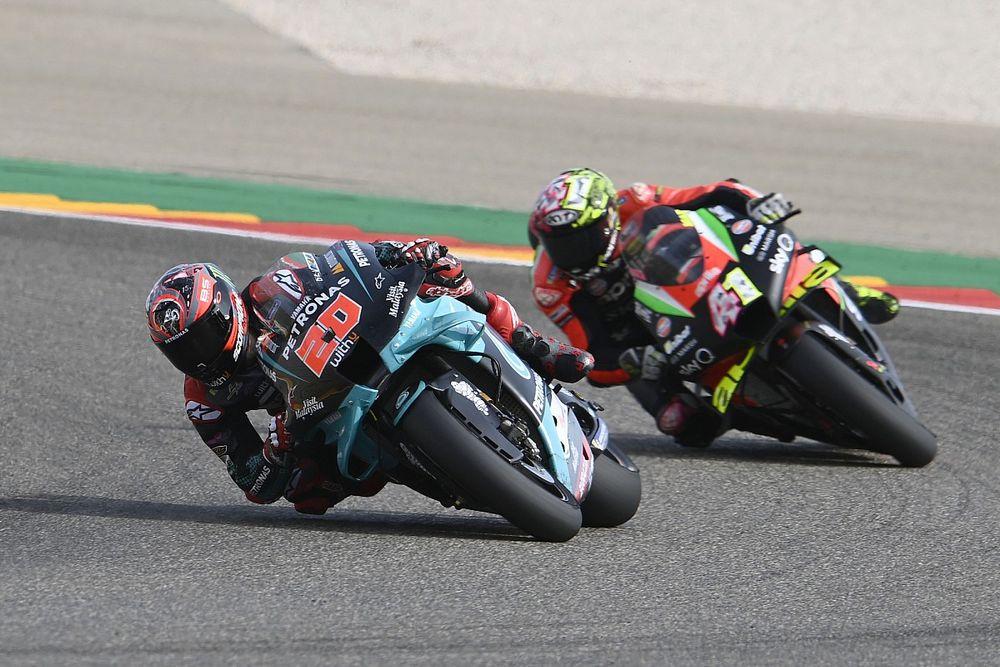 Quartararo not worried about repeat of 2020 Aragon MotoGP misery