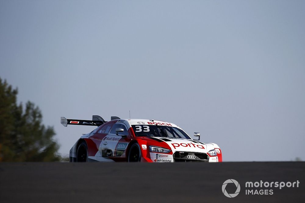 Kwalificatie DTM: Rast op pole, Frijns start vanaf P2