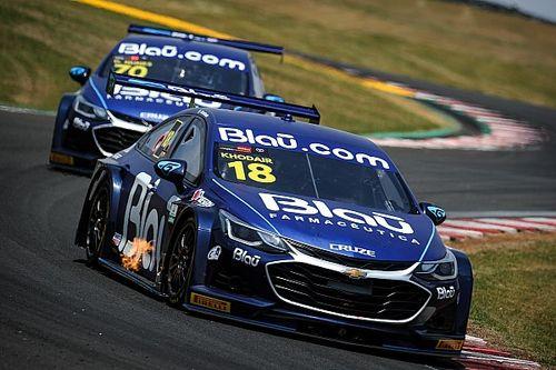 Stock Car: Khodair lidera dobradinha da Blau no segundo treino em Curitiba