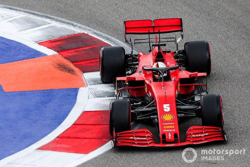 """Vettel: """"Non ero a mio agio. Il problema è tutta la macchina"""""""