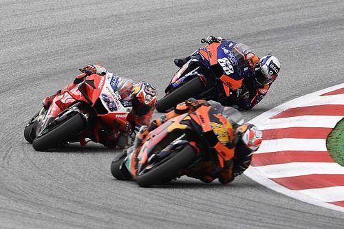 Оливейра вырывает первую победу в MotoGP, обогнав двоих в последнем повороте: видео