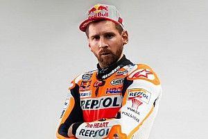 """Honda en MotoGP y Mercedes en F1 """"ofrecen"""" un puesto a Messi"""