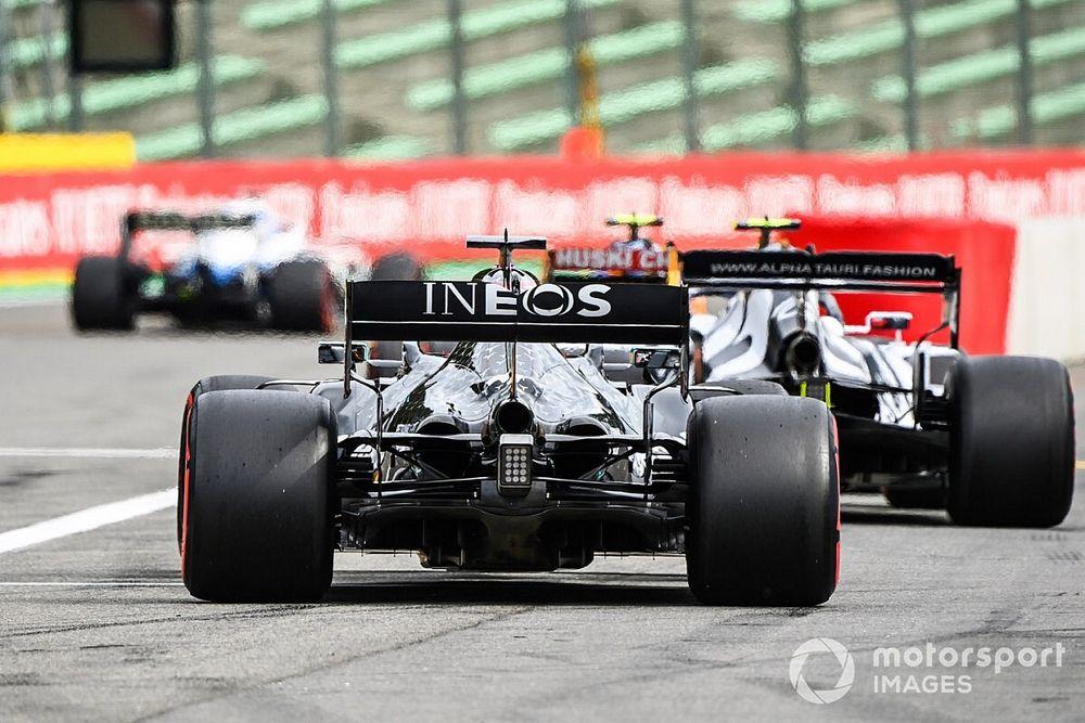 """Horner: """"Mercedes'in eğilimi, yüksek eğim konseptinin çalıştığını gösteriyor"""""""