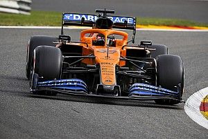 McLaren испытала в Спа детали 2021 года