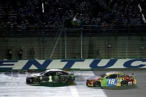 "Kyle Busch: ""I was going to plow the fence"" without lifting"