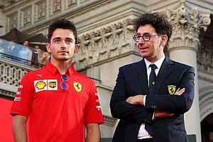 """Binotto: """"Con Leclerc vogliamo scrivere la storia della Ferrari"""""""
