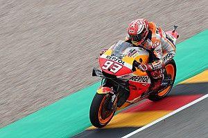 Marquez drie tienden los van concurrentie op vrijdag in Duitsland