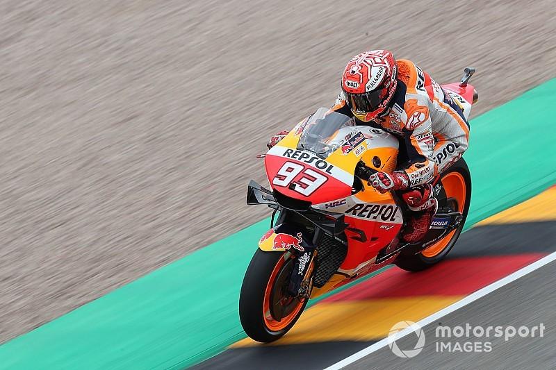 MotoGP: Márquez bate Rins e é o mais rápido da sexta na Alemanha