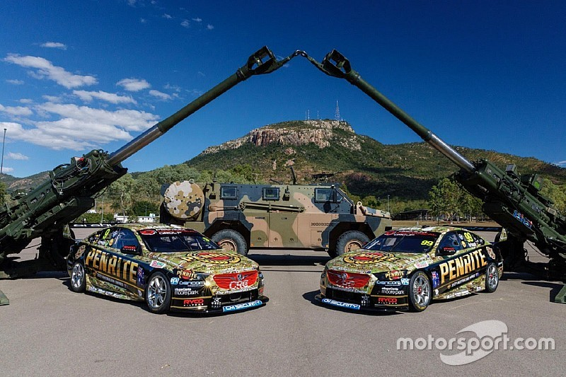 Erebus unveils camouflage livery for Townsville