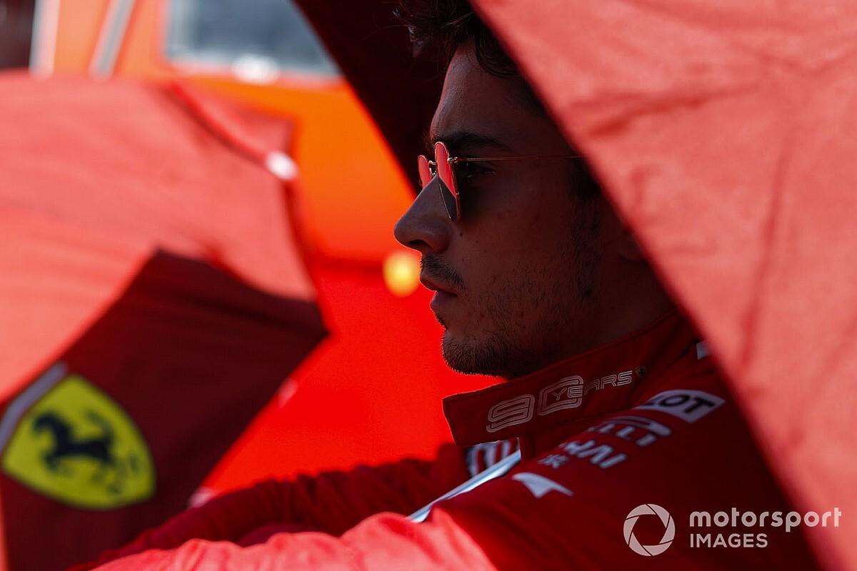 """Ferrari: la """"chiamata"""" di Leclerc non ha pagato"""