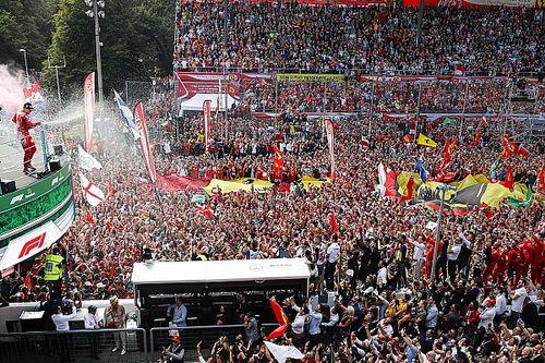 GALERÍA: Ferrari gana en Monza su segunda victoria de la temporada