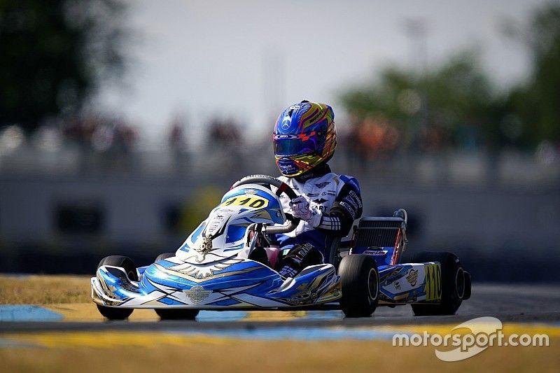 Travisanutto, bicampeón del mundo de karting