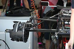 Racing Point: ecco la sospensione con il doppio bracket!