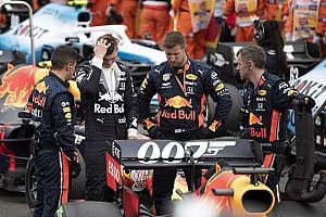 Rachadura nas asas causou drama da Red Bull antes da largada em Silverstone