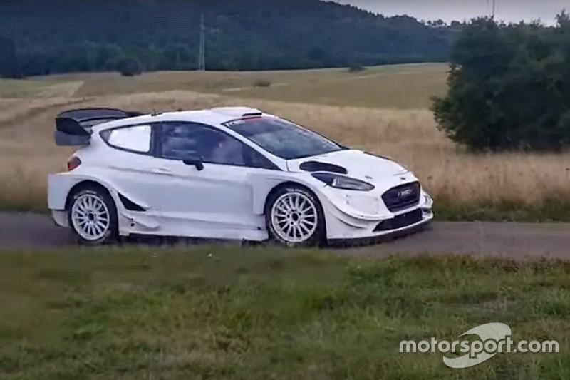 Bottas prova la Fiesta WRC: i rally un'opzione per il futuro?