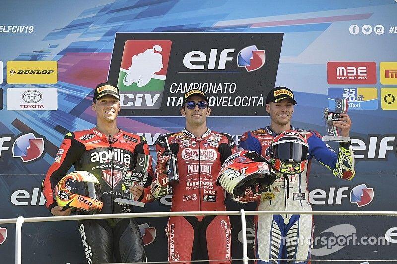 CIV Superbike: al Mugello Pirro diventa Campione