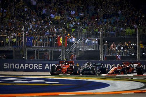 El vuelta a vuelta animado del intenso GP de Singapur