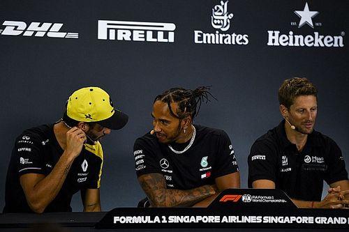 """Grosjean: """"Hamilton'ın maaşı kabul edilemez seviyede"""""""