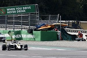 "Ricciardo ""couldn't believe"" airborne Peroni F3 crash"