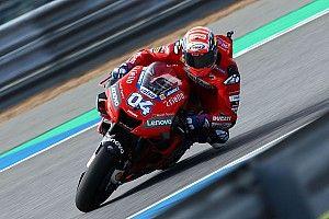 La pole est lointaine mais la confiance règne chez Ducati