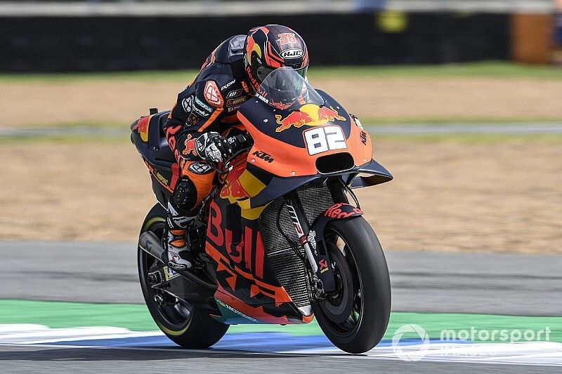 """Kallio """"not happy at all"""" with current form on KTM"""